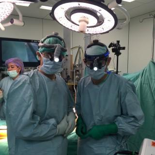 タイとマレーシアへの手術指導
