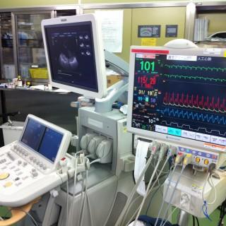 心臓手術で用いるモニター