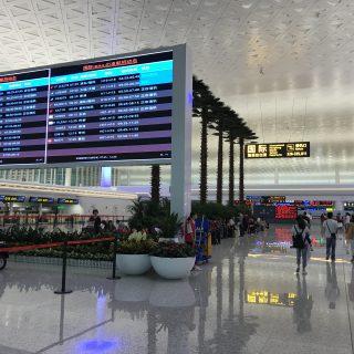新しい武漢国際空港