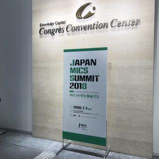 日本低侵襲手術学会で発表をして来ました