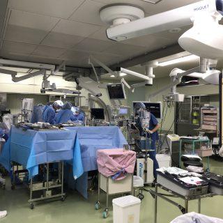 ハイブリッド手術室が稼働しました