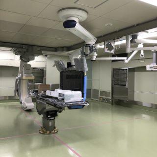 一宮西病院のハイブリッド手術室が完成、稼働します!