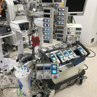 新しい人工心肺です